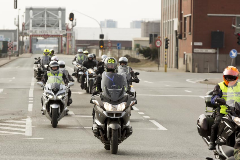 Dag van de Motorrijder, Noorderlaan AntwerpenVoor VSV