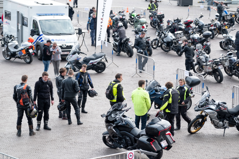 Dag van de Motorrijder 2019 op de Grote Markt van Sint-Niklaas