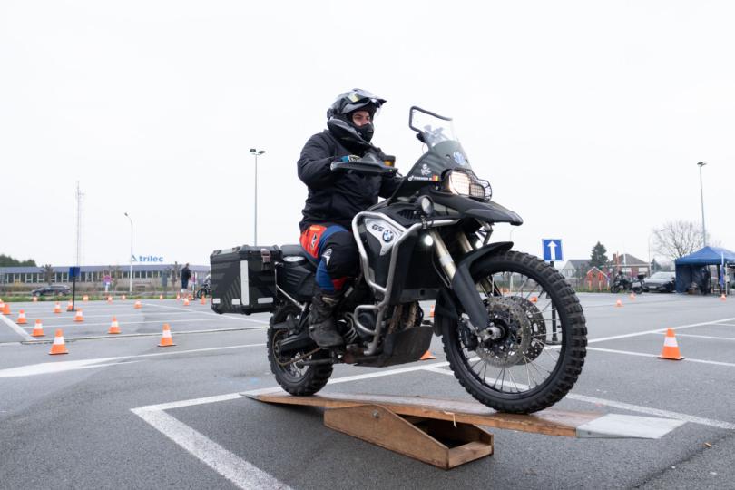 Dag van de Motorrijder 2019 op de carpoolparking van Erpe-Mere