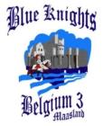 Logo Blue Knights Belgium III